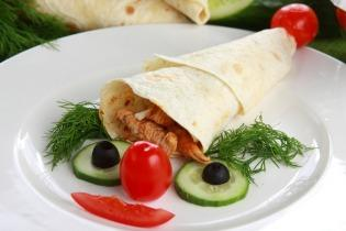 Gyros tortillában - A törpe sapkája