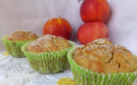 Fahéjas-almás muffin