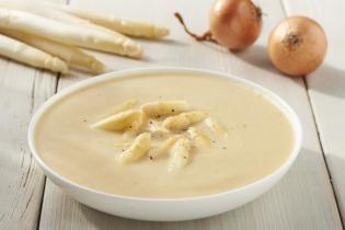 Fehér spárga leves