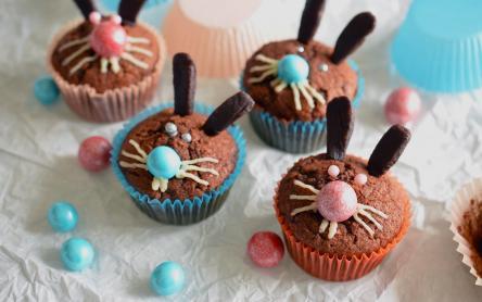 Kókuszos csokinyuszi muffin
