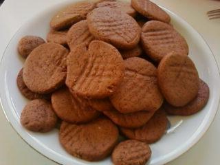 Zsófi keksz - Csokis, narancsos omlós korongok