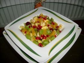Gránátalmás gyümölcssaláta