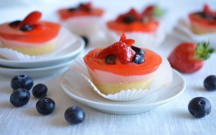 Gyümölcstorta muffin
