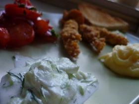 Kapros-fetás tzatziki saláta