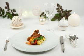 Hagyományos karácsonyi pulyka francia módra