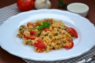 Rizses hús görög módra