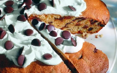 Poharas sütemény