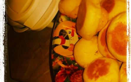 Narancs-álom muffin