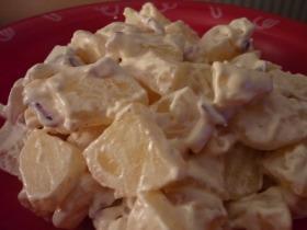 Majonézes krumplisaláta