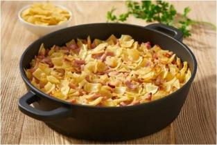 Ham and Macaroni Casserole