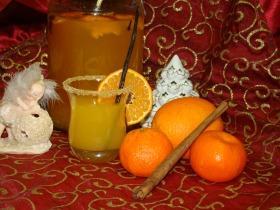 Karácsonyi narancs - mandarin likőr
