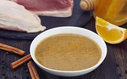 Mustáros, narancsos pác csirkemellhez, sertés karajhoz