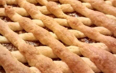 Laktózmentes almás pite