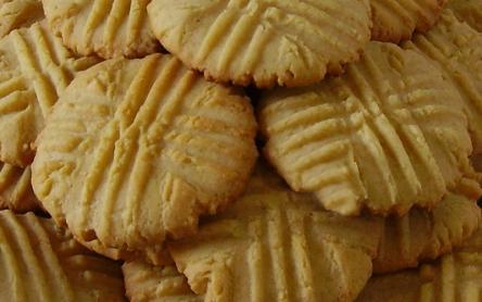 Laktózmentes Mogyoróvajas keksz