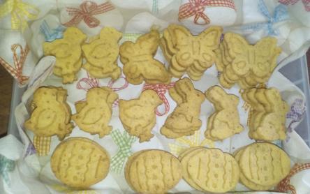 Glutén-, és laktózmentes mandulás keksz