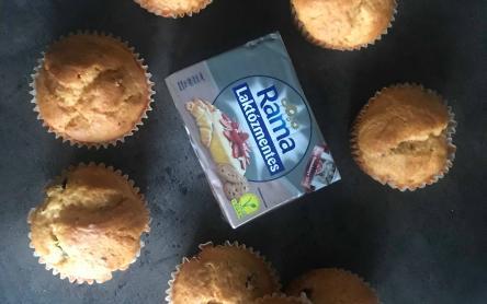 Gluténmentes és laktózmentes muffin
