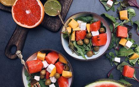 Görögdinnyés fetasaláta - Görbe Pali konyhájából