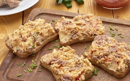 Tonhalas szendvicskrém