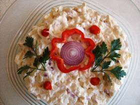 Krumplisaláta szabolcsi módra