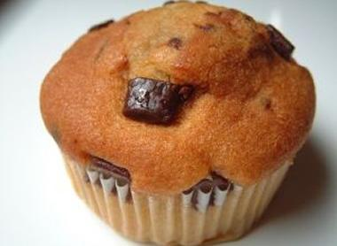 Banános csokidarabkás muffin