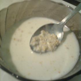 Zabpehely tejjel