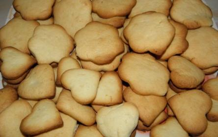 Citromos keksz