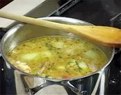 Fűszeres csirke leves