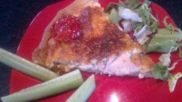 Tejszines csirkés quiche