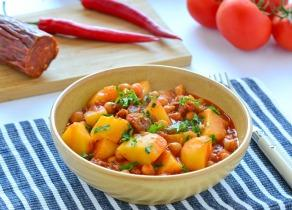 Paprikás krumpli spanyolosan