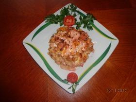 Padlizsános rózsaszín sült tészta