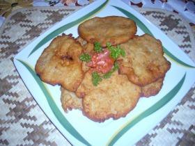 Krumplis-húsos mini lángos
