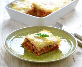 Zöldborsós bolognai lasagne