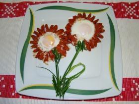 Tükörtojás virágok