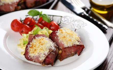 Bélszín grillezett zöldségekkel