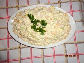 Majonézes póréhagymás saláta