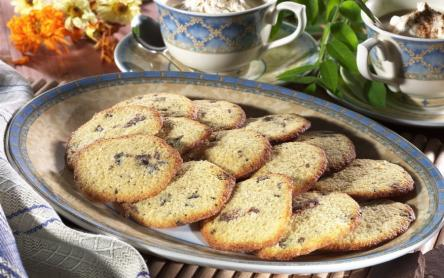 Zabkorpás-csokoládés keksz