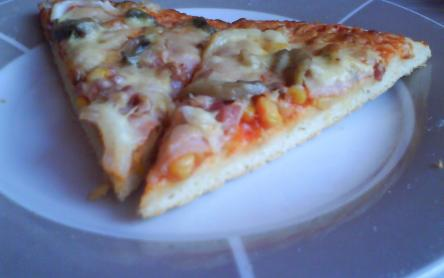 Egyszerű házi pizza