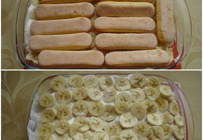 Banános babapiskóta