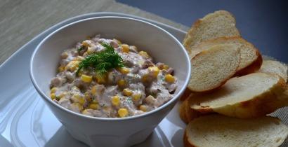 Tonhalas-kukoricás szendvicskrém