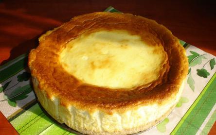 Sült sajttorta