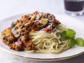 Tavaszi bolognai spagetti