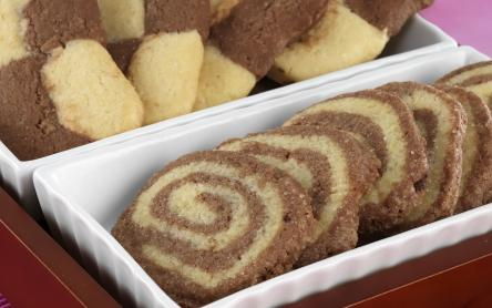 Vaníliás csokoládés keksz, kétféleképpen