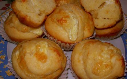 Sajtos tekert muffin