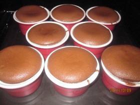 Hamiskás csoki szuflé