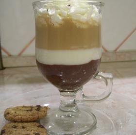 Cappucino pohárkrém édesítőszerrel