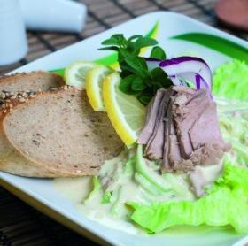 Majonézes uborkasaláta tonhallal