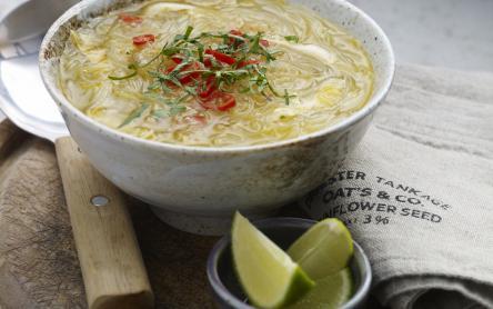 Thai tészta leves