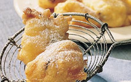 Ananászos-rizses fánk