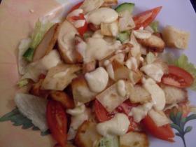 Tortilla saláta