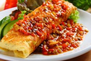 Szósz spanyol omletthez